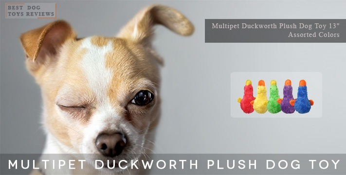 """Multipet Duckworth Plush Toy 